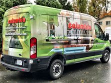 Columbia Cabinets full vehicle wrap