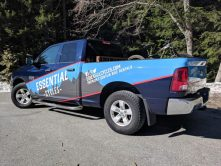 Essential Cycles full truck wrap