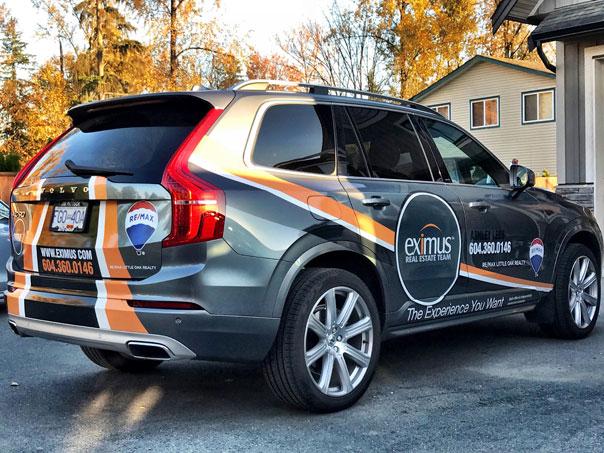 Eximus SUV wrap