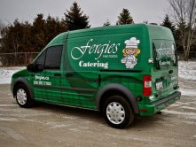 Fergies Fine Foods full vehicle wrap