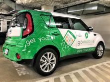 Go Mobile full van wrap