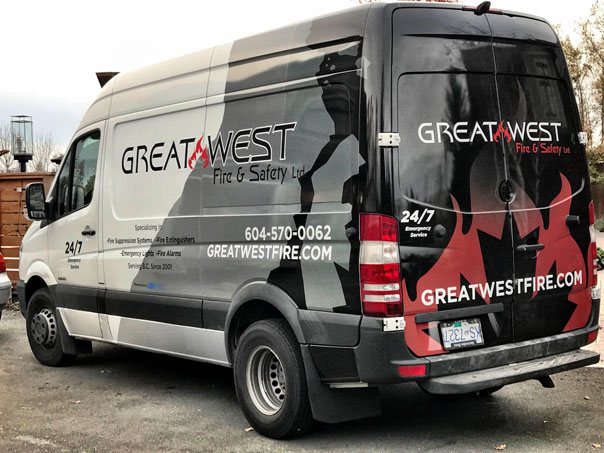 Great West full vehicle wrap