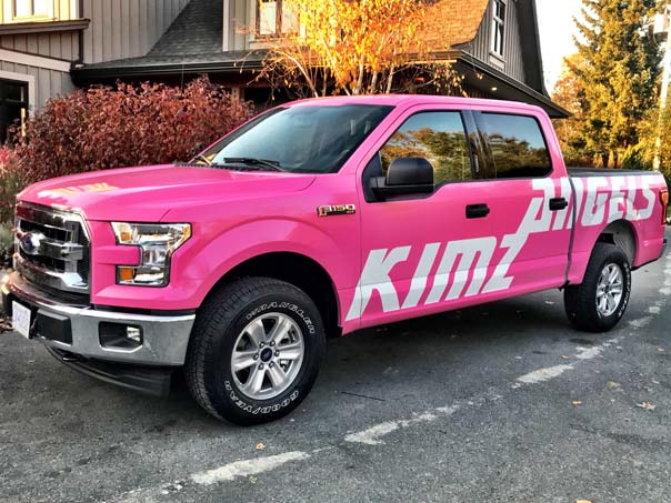 Kimz Angels full vehicle wrap