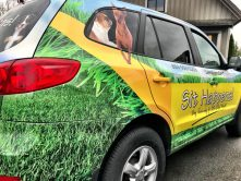 Sit Happens full vehicle wrap