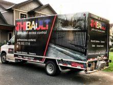 Thibault full truck wrap