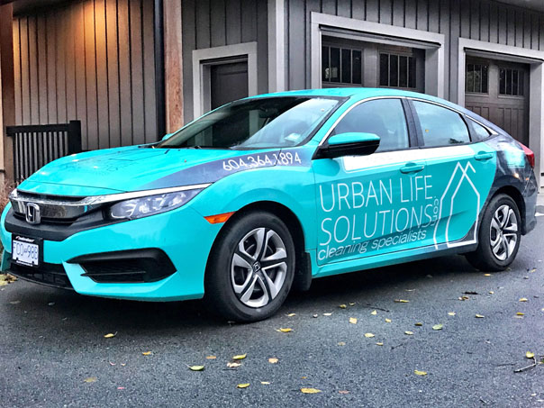 Urban Life Solutions full car wrap