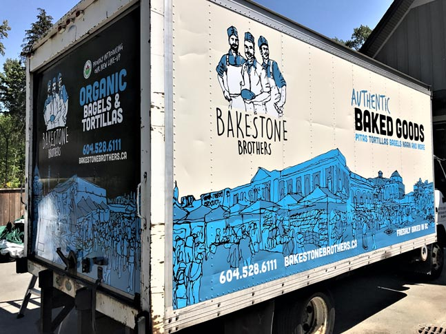 Bakestone Brothers full trailer wrap