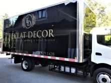 Eclat Decor full trailer wrap