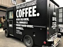 Kafka's Coffee partial vehicle wrap