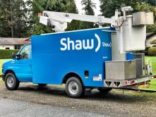 Shaw full truck wrap