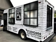 Studio 604 full vehicle wrap