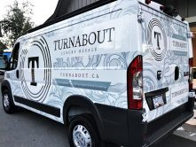 Turnabout full vehicle wrap