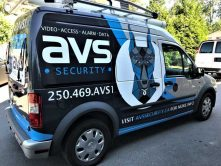 AVS Security full vehicle wrap