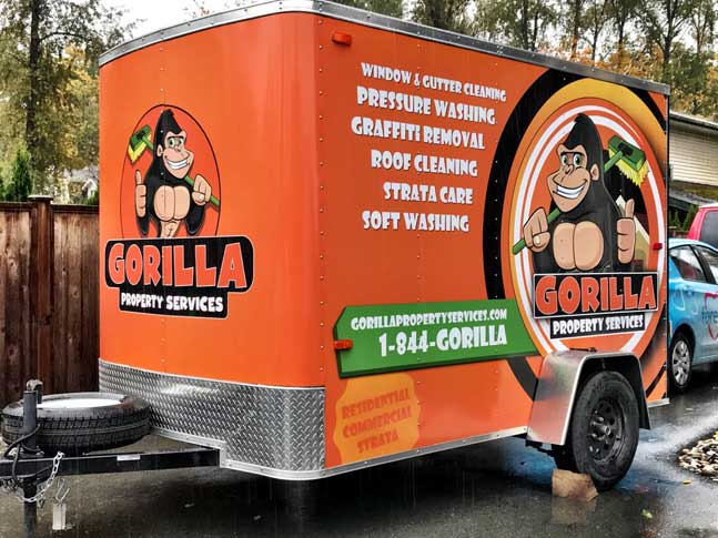 Gorilla trailer wrap