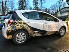 Micasa partial car wrap