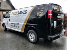 Paul Davis partial vehicle wrap
