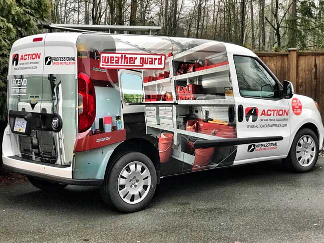 Weather Guard full vehicle wrap