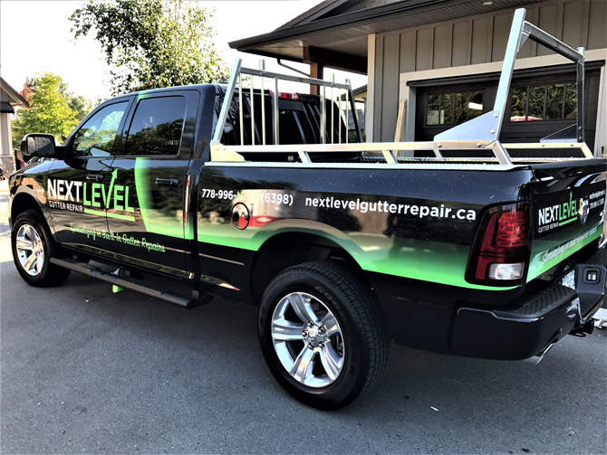 vinyl truck wrap from Wrap Guys