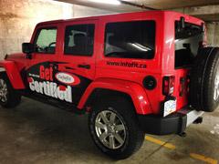 red jeep wrangler wrap