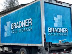 cold storage truck wrap