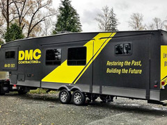 construction trailer vinyl wrap
