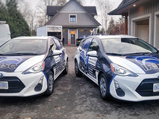 fleet of car wraps