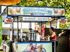 milkshake stand vinyl wrap