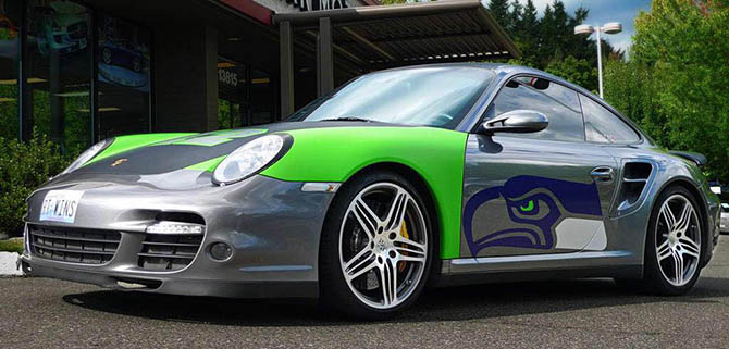 seattle seahawks custom car decal