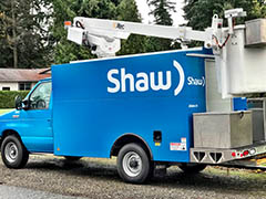 shaw fleet vehicle wrap