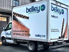 moving cube van wrap