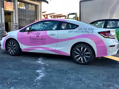 Burnaby vehicle wraps and car wraps