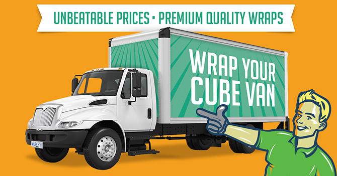 vinyl wraps for cube vans
