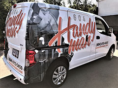 langley van wrap