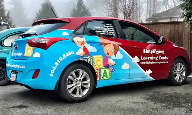 Vehicle wraps for Coquitlam and Port Coquitlam businesses