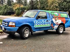 Coquitlam/PoCo work truck wrap
