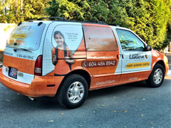 Delta work van wrap
