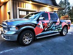 delta truck wrap