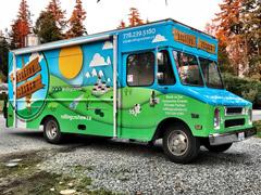 food truck wrap Coquitlam/PoCo