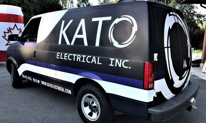 Vinyl vehicle wraps for North Vancouver businesses