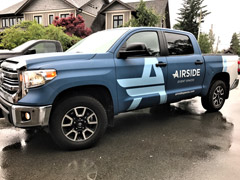 Chilliwack truck wrap
