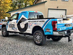 New Westminster truck wrap
