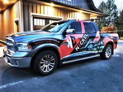 Truck wraps West Vancouver