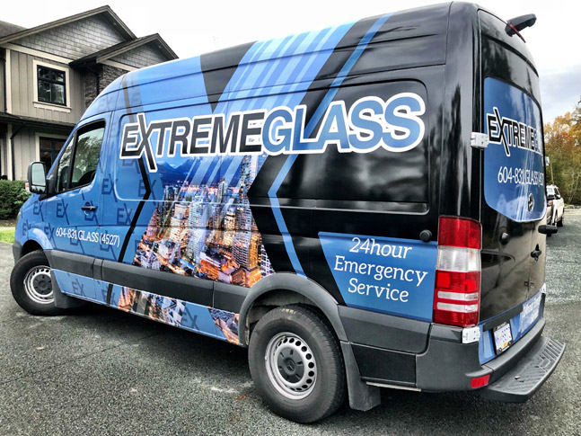 Extreme Glass van wrap