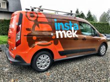 Insta Mek vehicle wrap