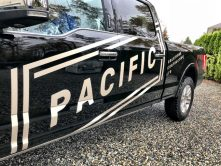 Pacific Solutions Contracting truck wrap