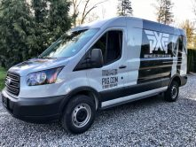 PXG van wrap