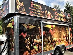 Victoria food truck wraps