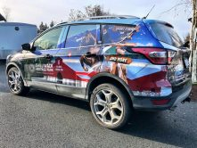 Chilliwack Heritage Park SUV wrap