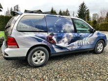 Elevate Vacations van wrap