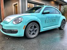Elevate Vacations car wrap